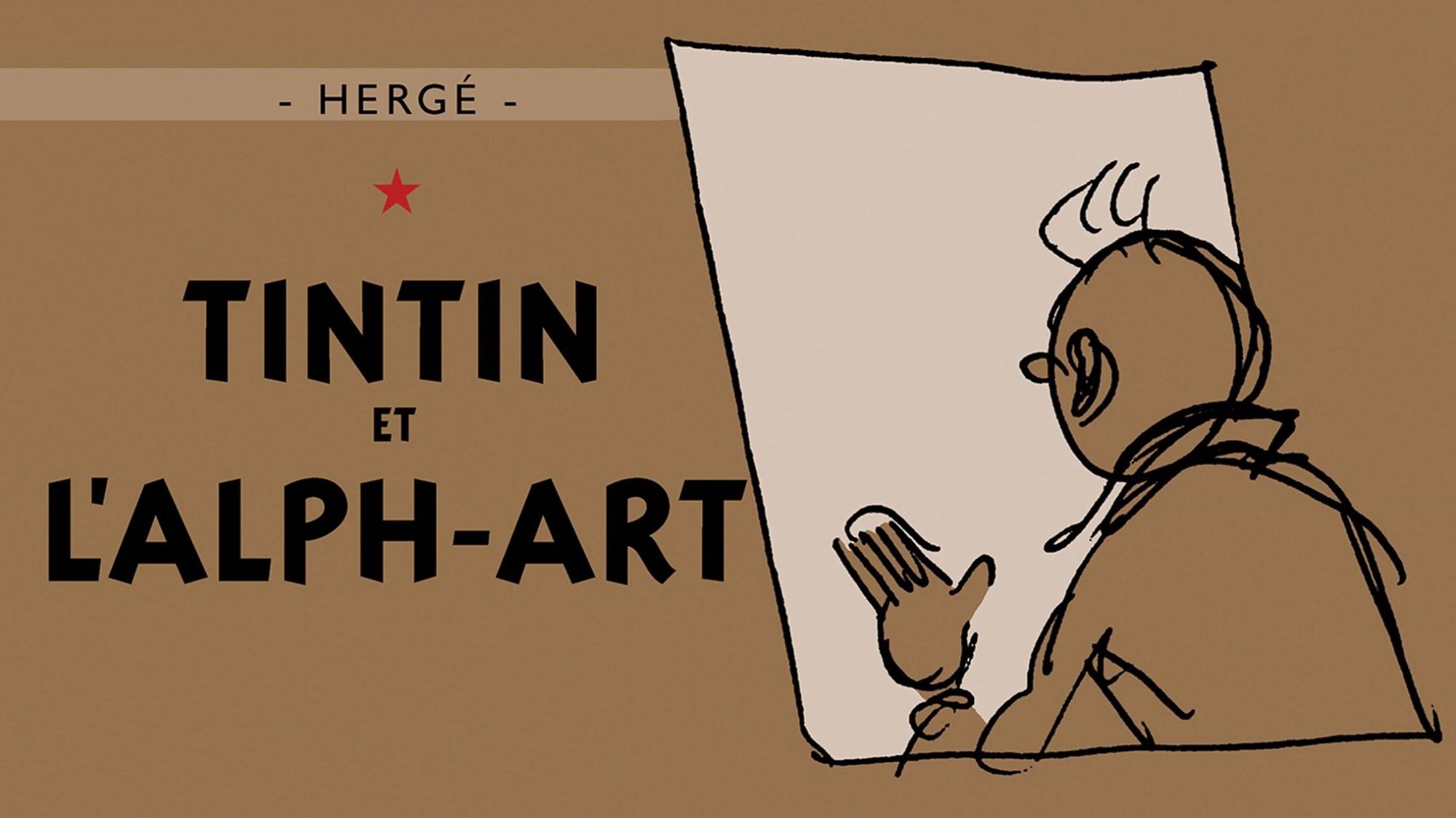 Tintin och alfabetskonsten