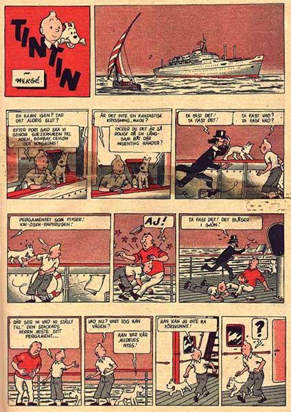 Faraos cigarrer ur Året Runt (1958-59). ©PIB