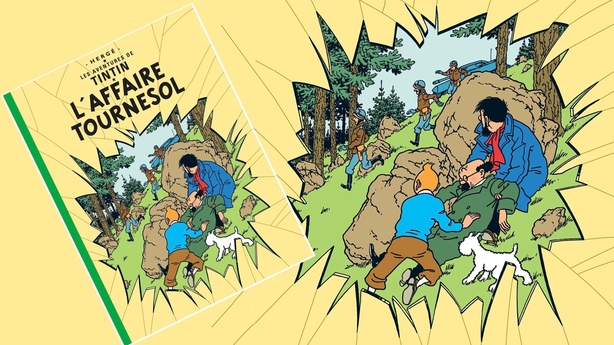 Det hemliga vapnet, med Tintin