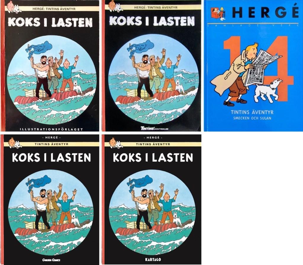 Koks i lasten har utkommit i flera utgåvor på svenska. ©Bonniers/Carlsen/Kartago/Nordisk bok