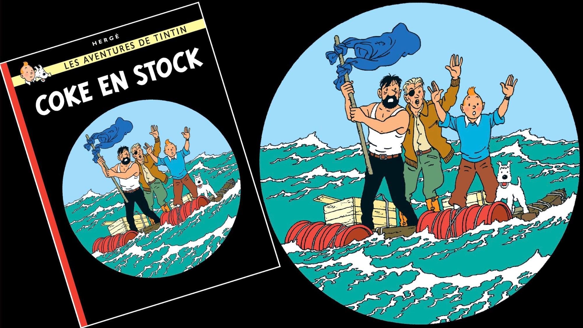 Koks i lasten, med Tintin