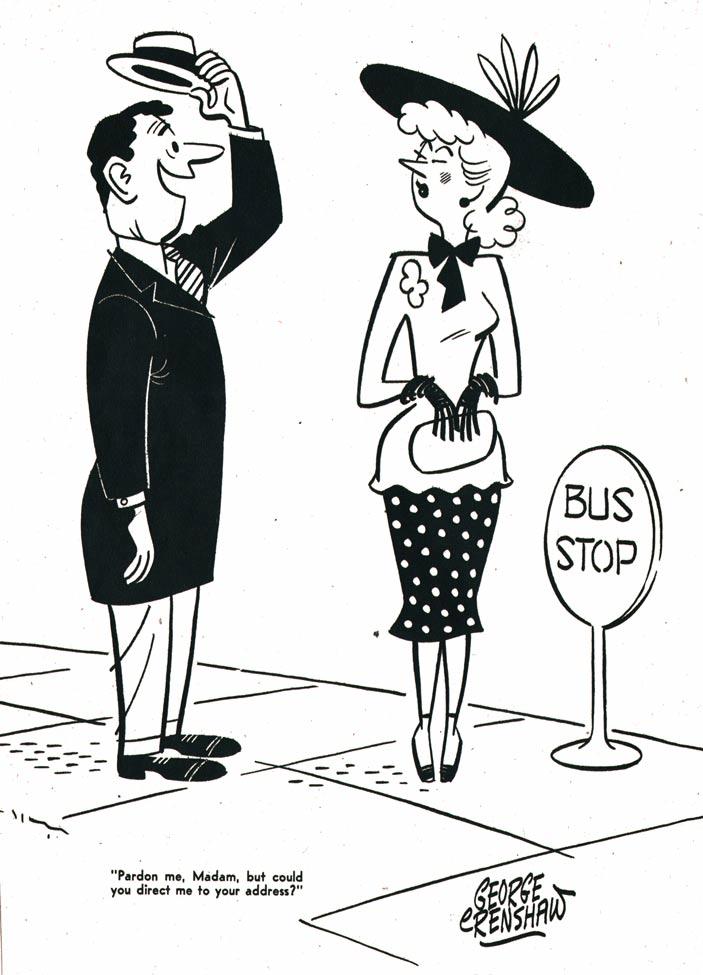 Innan Crenshaw fick succé med Belvedere producerade han skämtteckningar för olika publikationer.