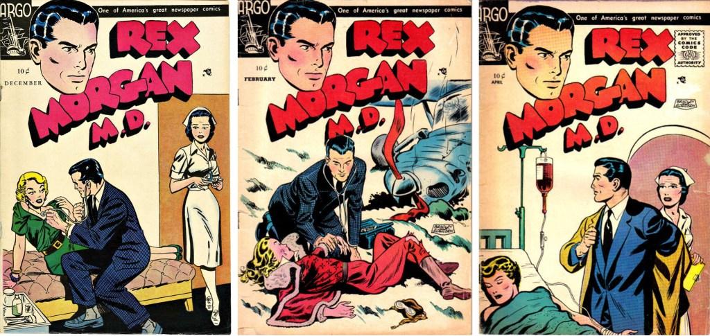 Omslag till serietidningen med Rex Morgan M. D. ©Argo