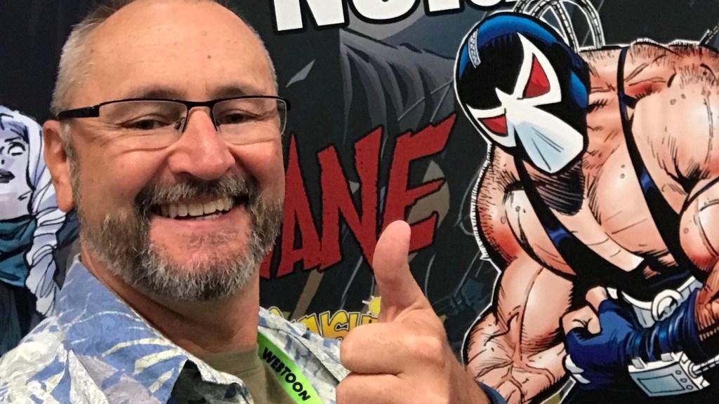 Serieskaparen Graham Nolan på New York Comic Com 2018. ©Nolan