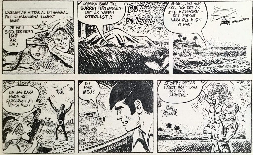 Ytterligare ett par dagsstrippar ur Comics nr 4. ©PIB/CTNYNS