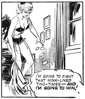 Patti var något  av en modern efterföljare till Jane, populär på 30- och 40-talet. ©Mirror Group
