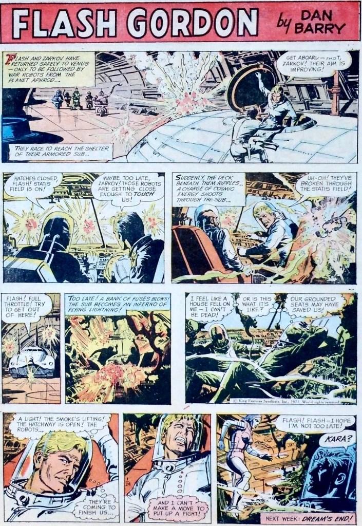 Motsvarande söndagssida i original från 24 januari 1971. ©KFS