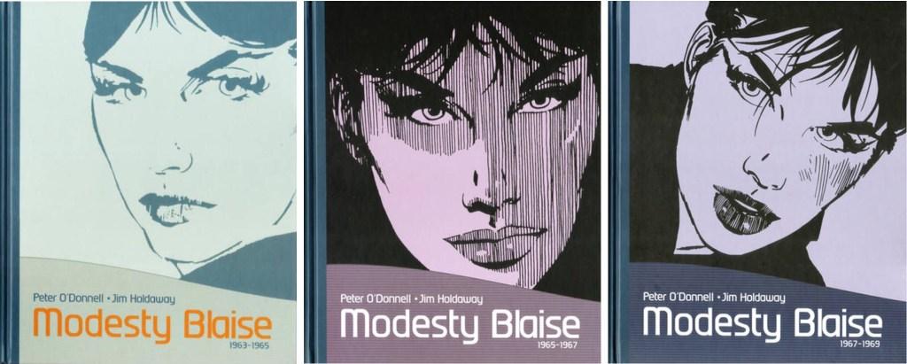 Samlingsvolymer med Modesty Blaise. ©Egmont