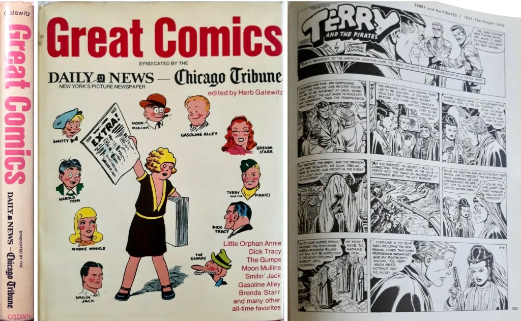 Great Comics Syndicated by The Daily News and Chicago Tribune. ©Crown/CTNYN