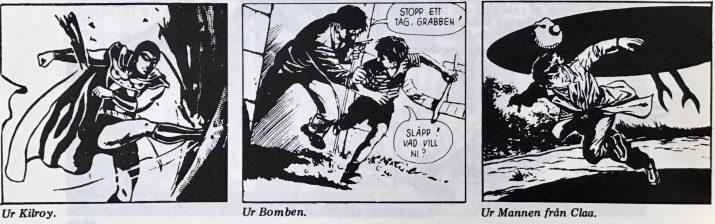 Smakprov ur serier av Gohs, ur Thud 20 (nr 2, 1973). ©Gohs