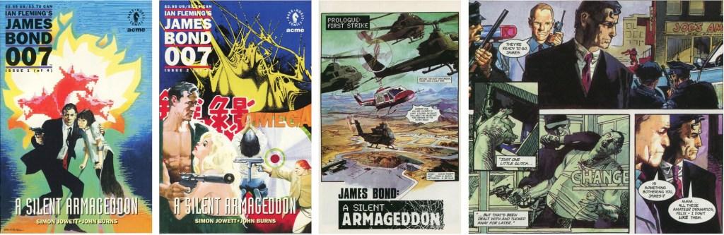 A Silent Armageddon med James Bond. ©Acne/Dark Horse