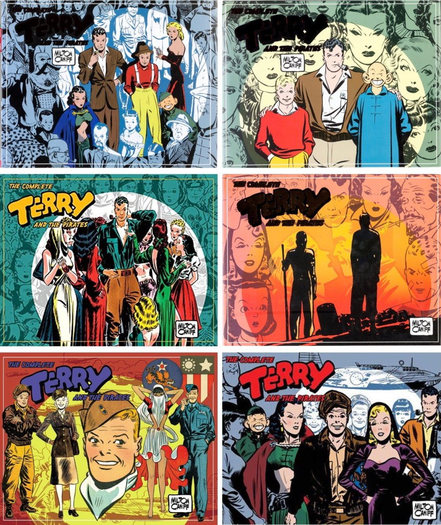 The Complete Terry and the Pirates (2007-09). ©IDW