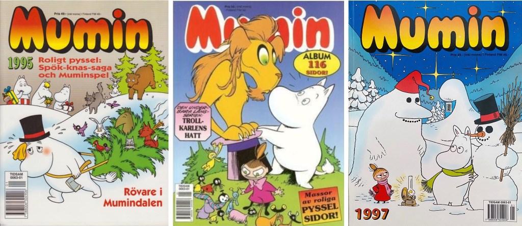 Omslag till julalbum 1995-97. ©Semic