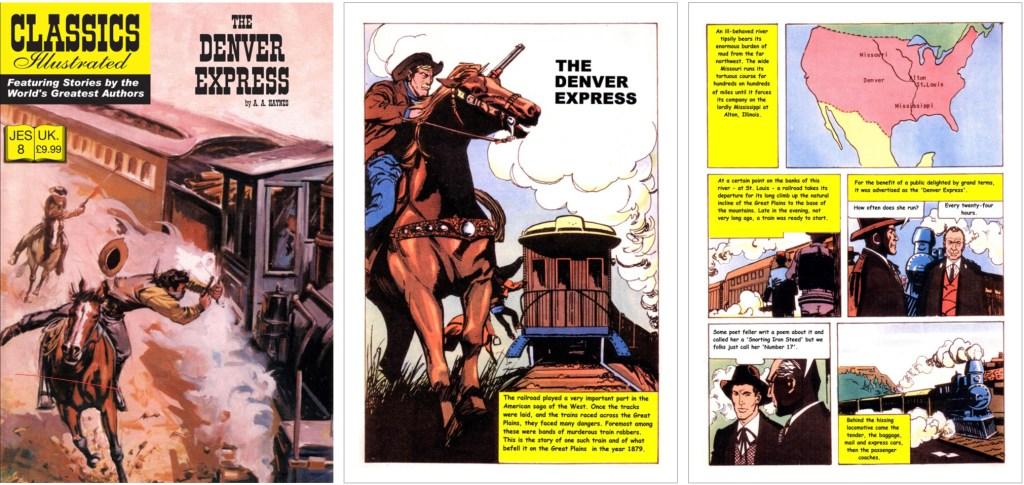 Omslag, förstasida och en sida ur inlagan ur CI (JES) No. 8. ©JES