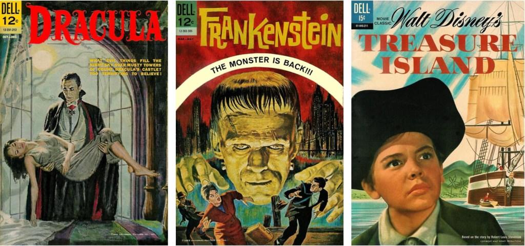 Movie Classic innehöll ett varierat utbud av tecknade serier. ©Dell