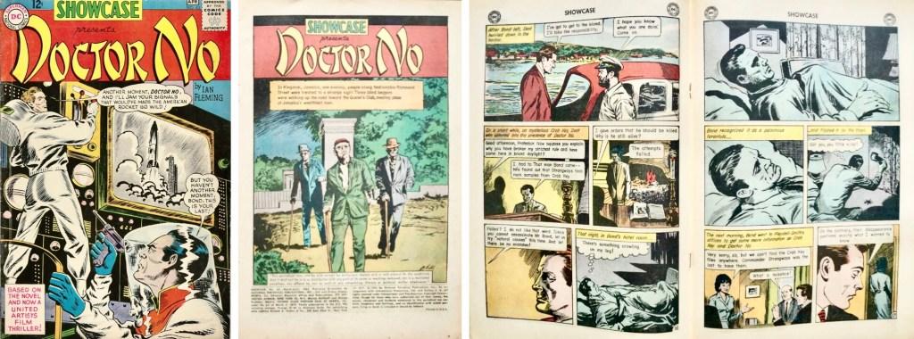 Showcase #43 (mars-april 1963), med Doctor No. ©DC Comics