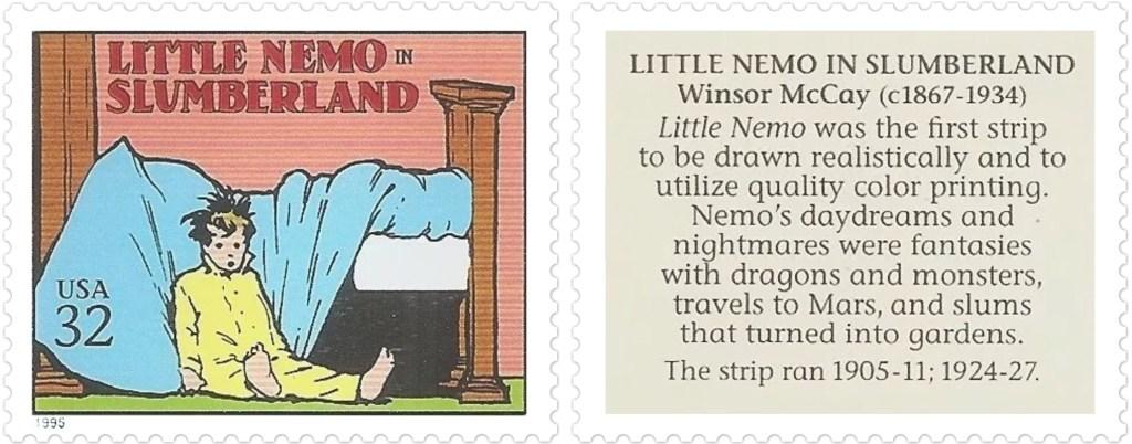 Little Nemo in Slumberland av Winsor McCay (c. 1867-1934)