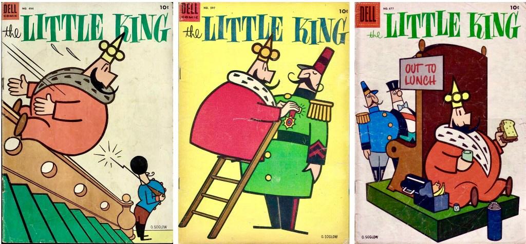 Omslag till Four Color Comic #494, #597 och #677 (1954). ©Dell