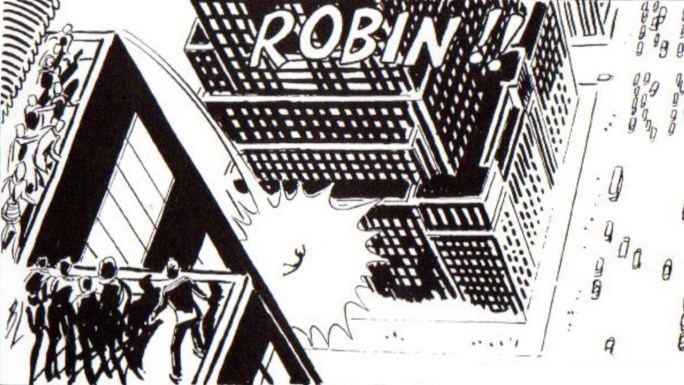 En seriehjältinnas dör - Robin Malone
