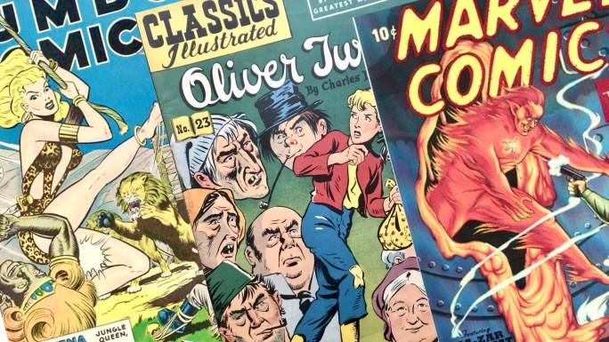 "Comic Book ""Shops"""