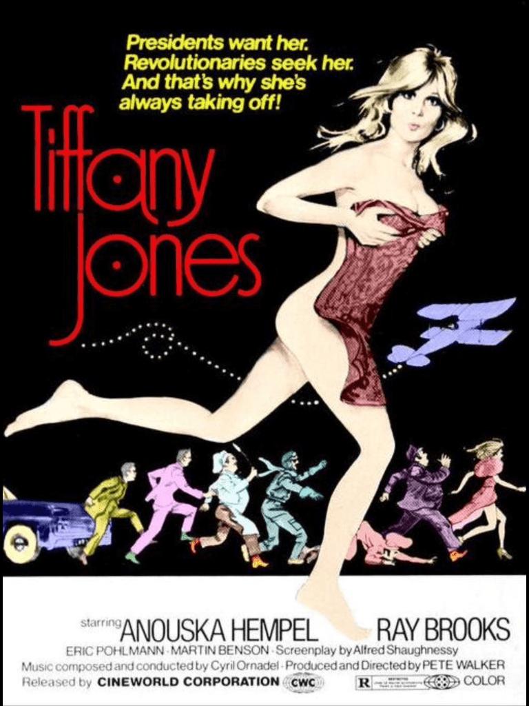 Filmaffisch från biofilmen Tiffany Jones. ©Cineworld