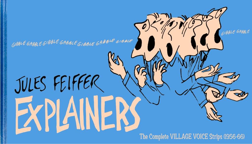 Omslag till Jules Feiffers: Explainers. ©Fantagraphics