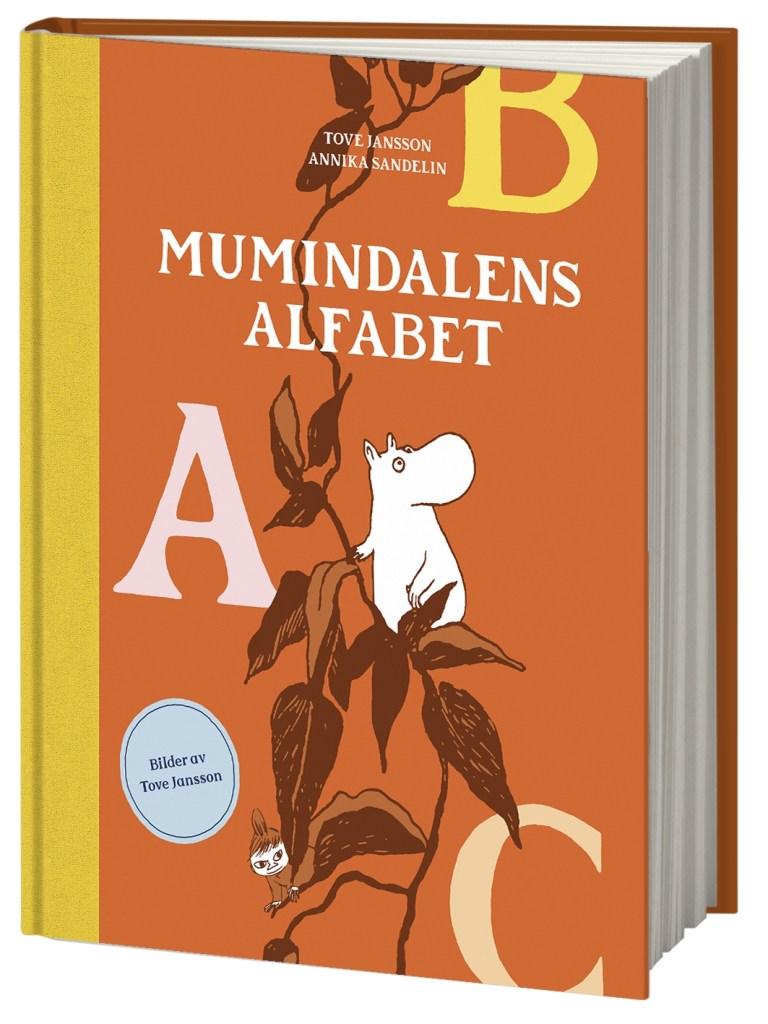 Omslag till bilderboken Mumindalens alfabet. ©Bonnier/Carlsen