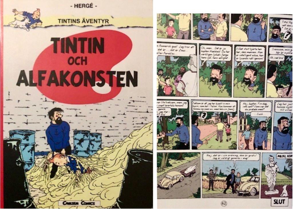 Piratversionen av Yves Rodier finns även på svenska. Även Carlsen-logotypen är falsk.