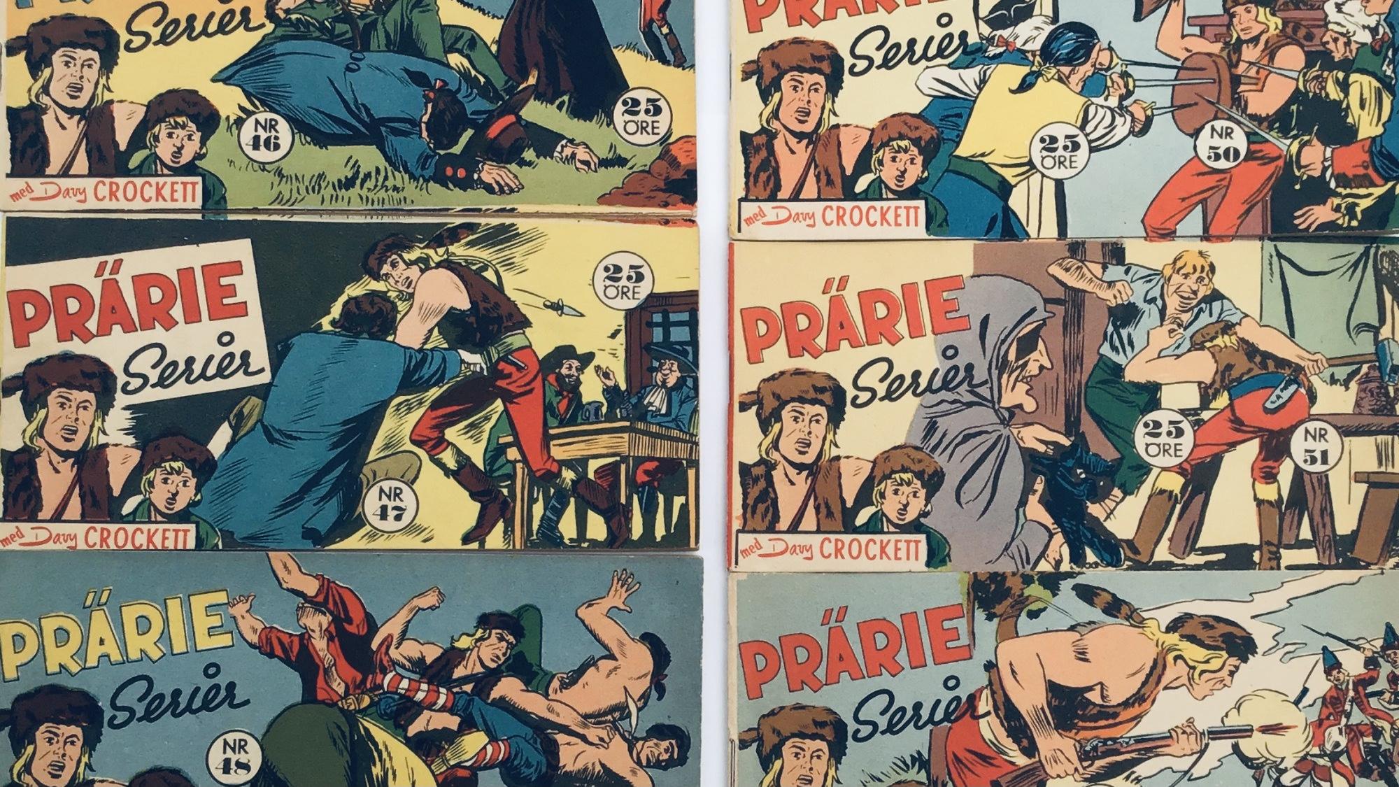 Davy Crockett-äventyr 1958