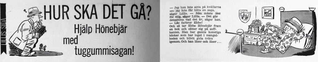 Inledningen till Lillis sida. ©Å&Å