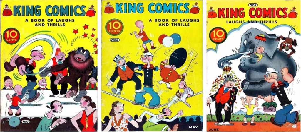 Omslag till King Comics #1-3 (1936). ©McKay