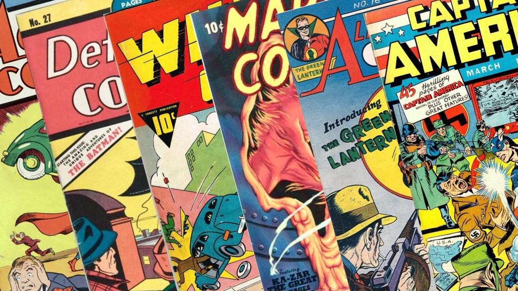 De första serietidningarna