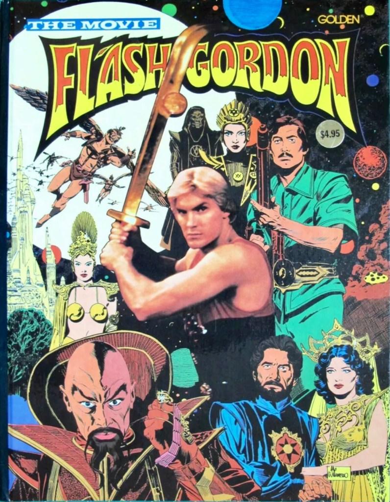 Omslag till Flash Gordon The Movie (1980). ©Western