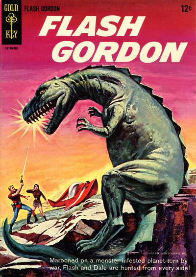 Omslag till Flash Gordon #1 (1965). ©Western
