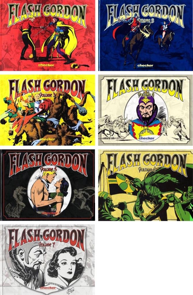 Omslag till Alex Raymond's Flash Gordon (2003-07). ©Checker
