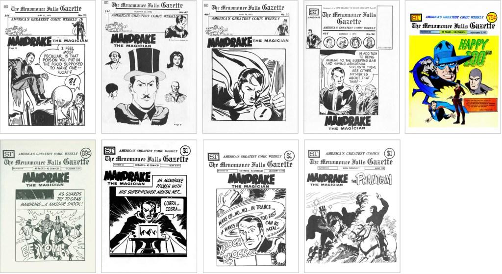 Johnny Hazard fanns med på omslaget till MFG #23, #45, #70, #94, #100, #147, #180, #214 och #223. ©Street Enterprises