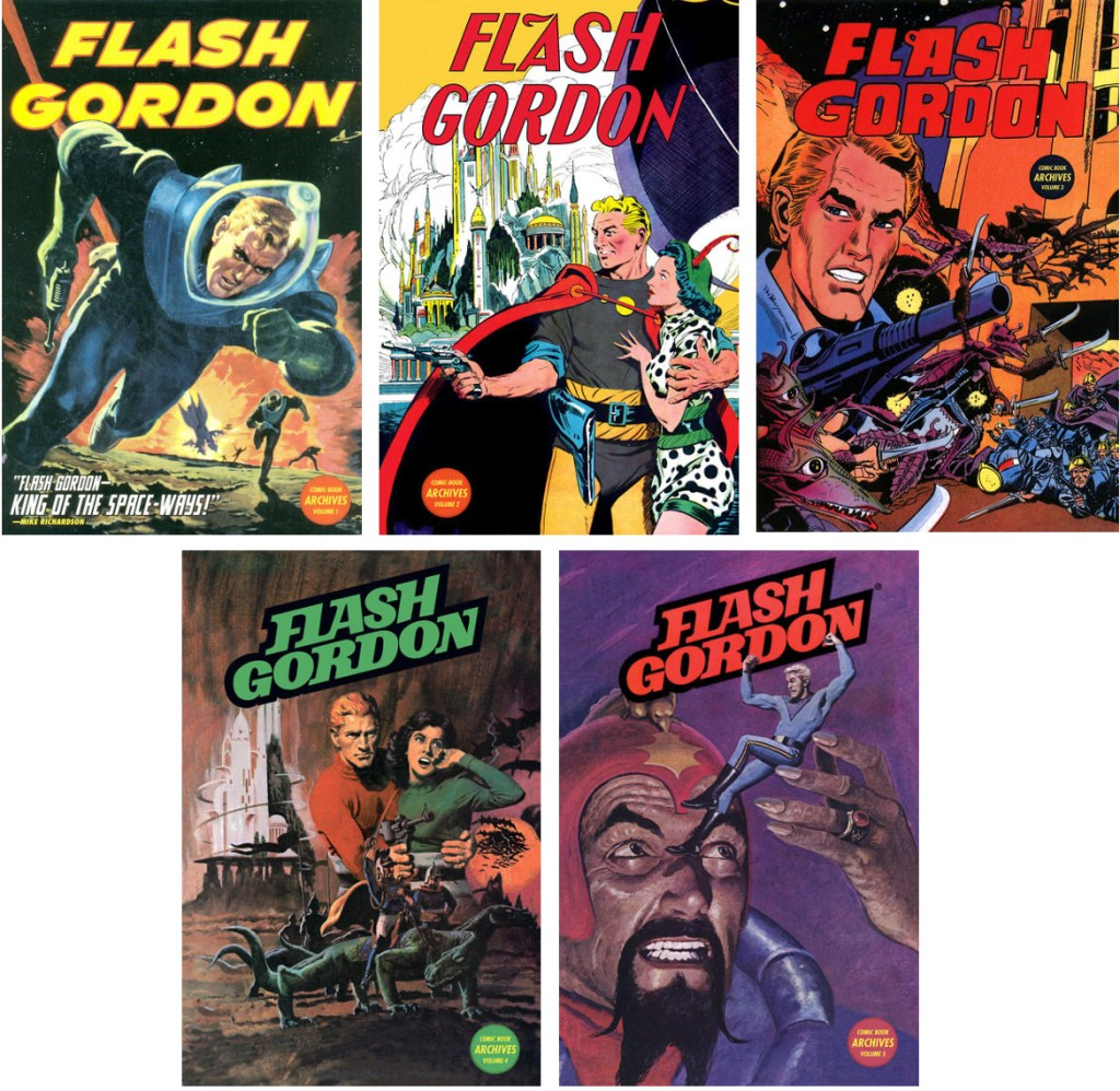 Omslag till Flash Gordon (2010-11). ©Dark Horse