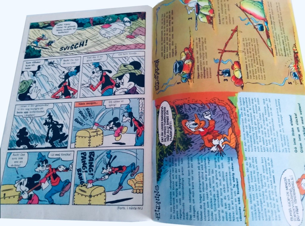 Omslagets baksida publicerade Gröngölingens handbok (1963). ©Hemmets Journal