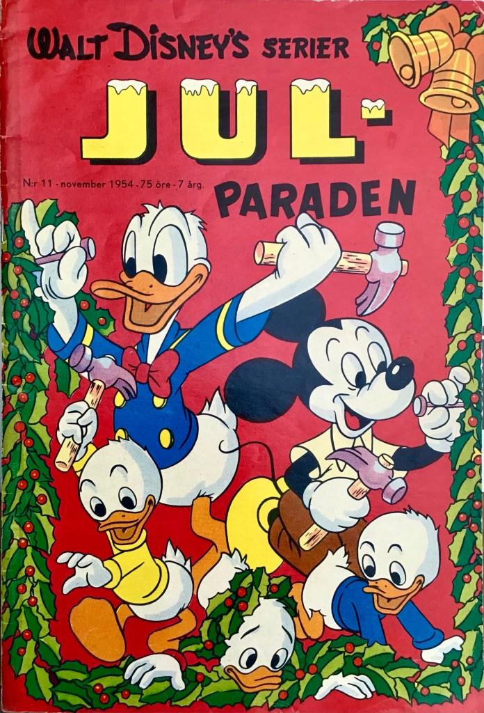 Omslag till Walt Disney's serier nr 11, 1954. ©Richters/Disney