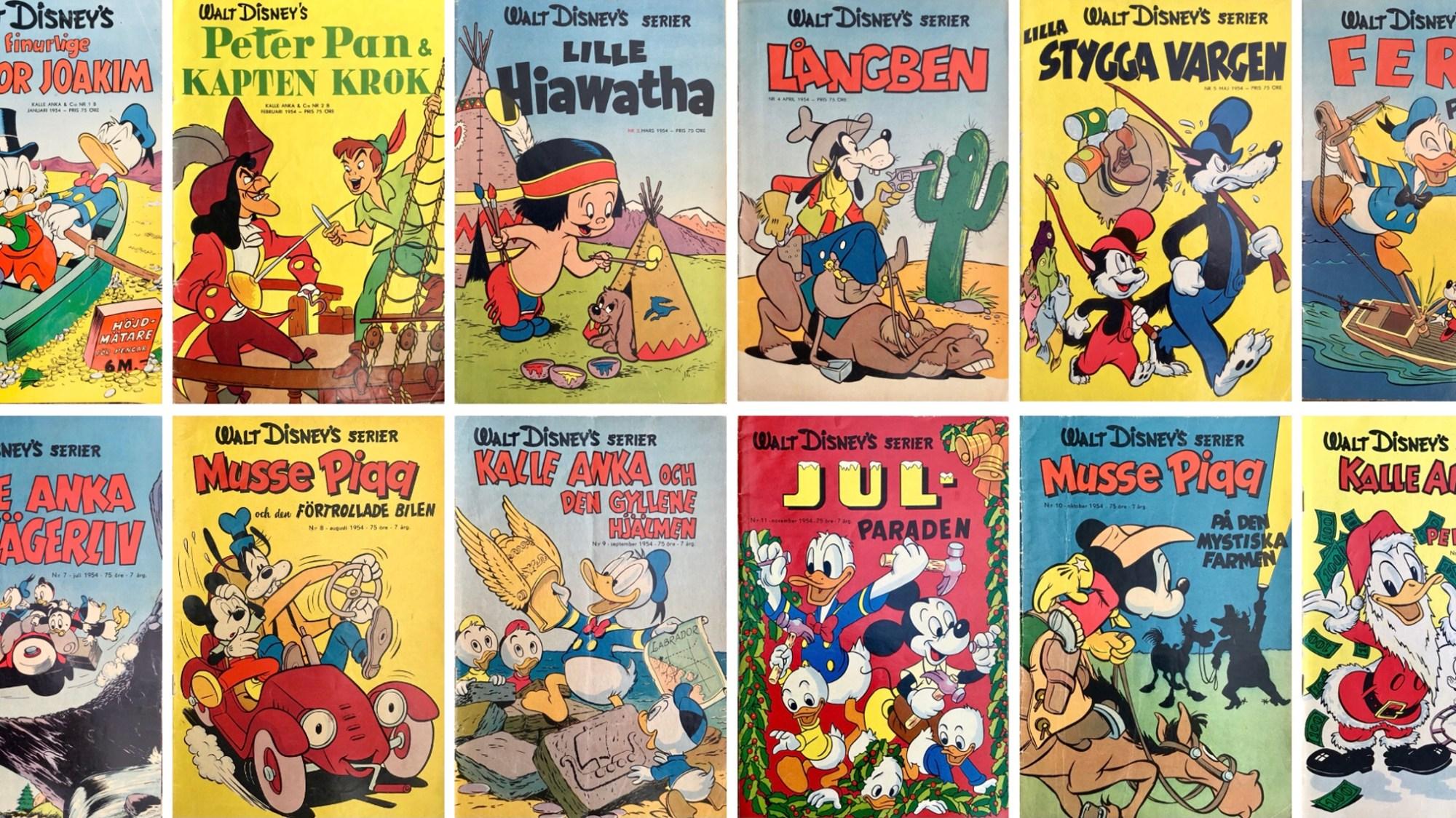 Walt Disney's serier 1954