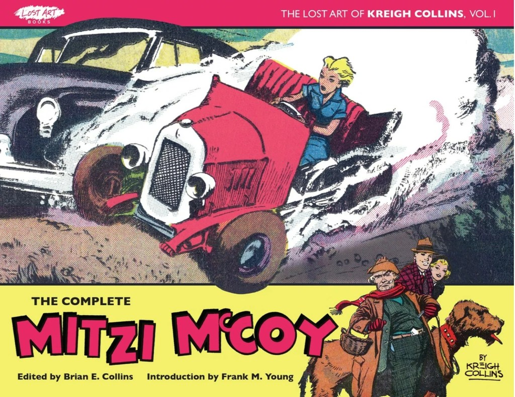 Omslag till The Complete Mitzi McCoy. ©Picture This Press