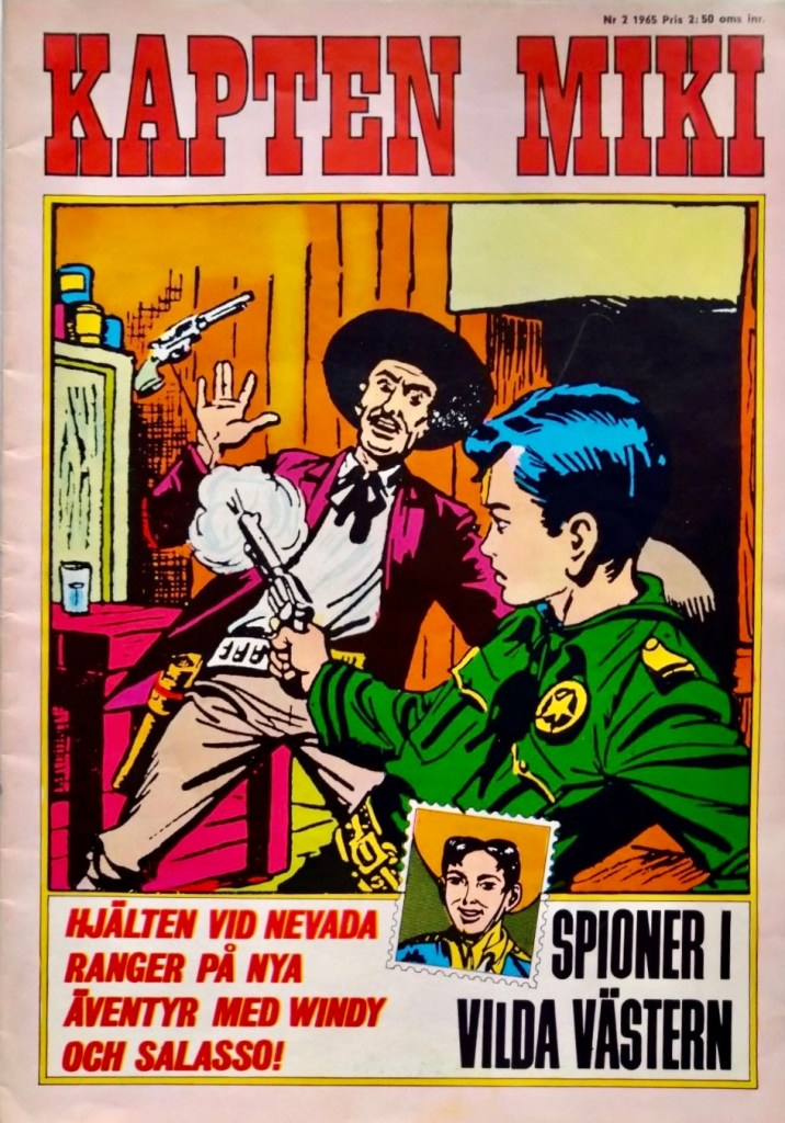 Kapten Miki nr 2, 1965. ©Centerförlaget