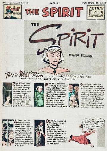Inledande sida i original, från 4 april 1948. ©Register&Tribune