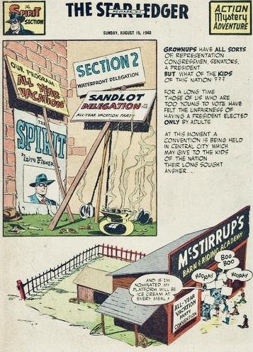 Inledande sida i original, från 15 augusti 1948. ©Register&Tribune