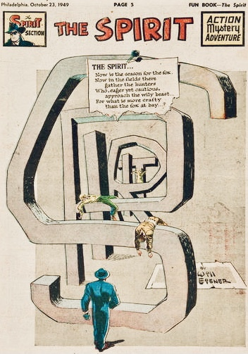 Inledande sida i original, från 23 oktober 1949. ©Register&Tribune
