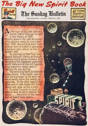Inledande sida i original, från 2 mars 1947. ©Register&Tribune
