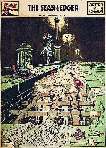 Inledande sida i original, från 30 november 1947. ©Register&Tribune