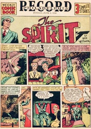 Inledande sida i original, från 9 juni 1940. ©Register&Tribune