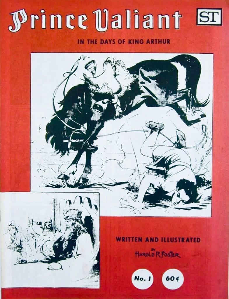 Omslag till Prince Valiant #1 (1972). ©Street Enterprises