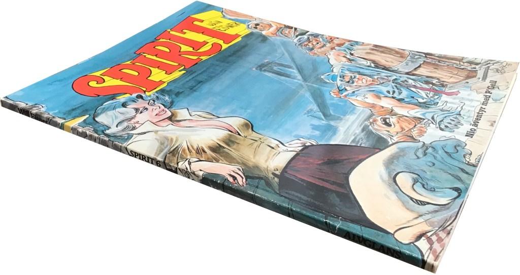 Spirit 6 (1985) var är en volym på totalt 68 sidor. ©Alvglans/Eisner